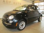 2012 Fiat 500 LOUNGE CONVERTIBLE / CUIR LOUNGE CONVERTIBLE / CUI in Longueuil, Quebec