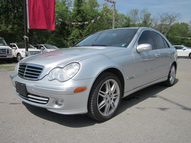 2007 mercedes benz c class 3 0l avantgarde htd leather for 2007 mercedes benz c350