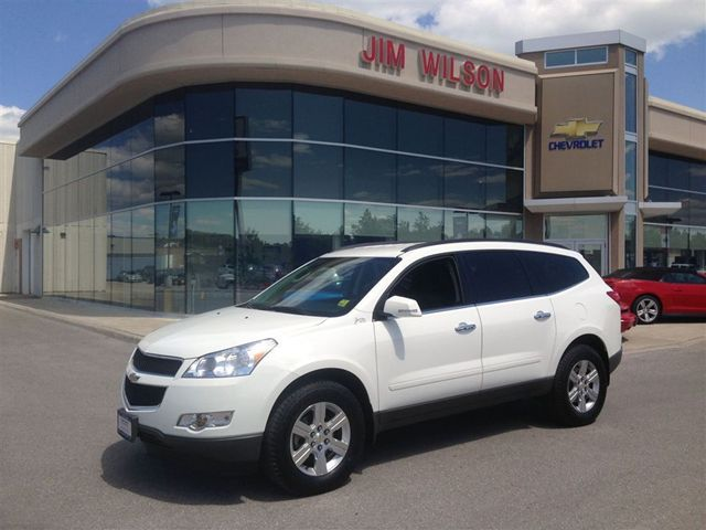 2012 chevrolet traverse lt 7 seater bluetooth alloys more in orillia. Cars Review. Best American Auto & Cars Review