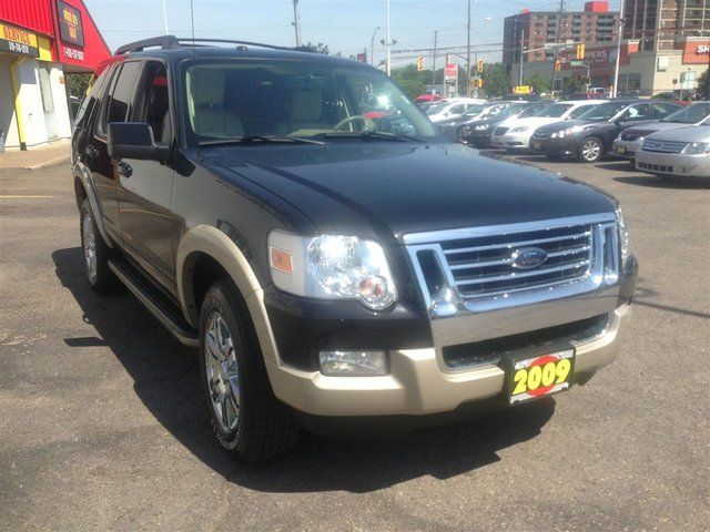 2009 ford explorer eddie bauer 4x4 leather waterloo ontario used car for sale. Black Bedroom Furniture Sets. Home Design Ideas