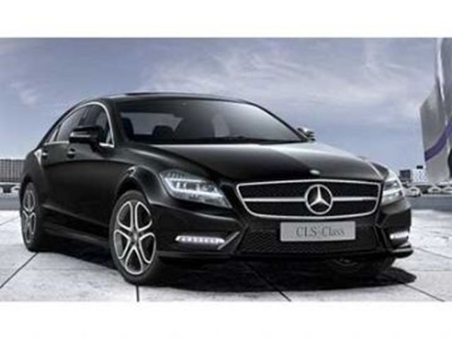 Vehicle details for Mercedes benz cls lease