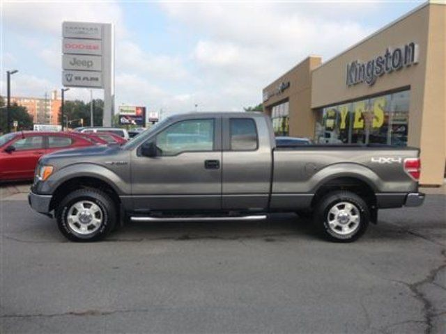 2010 ford f 150 xlt supercab 4x4 kingston ontario used car for sale. Black Bedroom Furniture Sets. Home Design Ideas