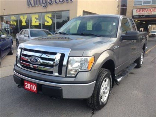 2010 ford f 150 xlt supercab 4x4 kingston ontario used. Black Bedroom Furniture Sets. Home Design Ideas