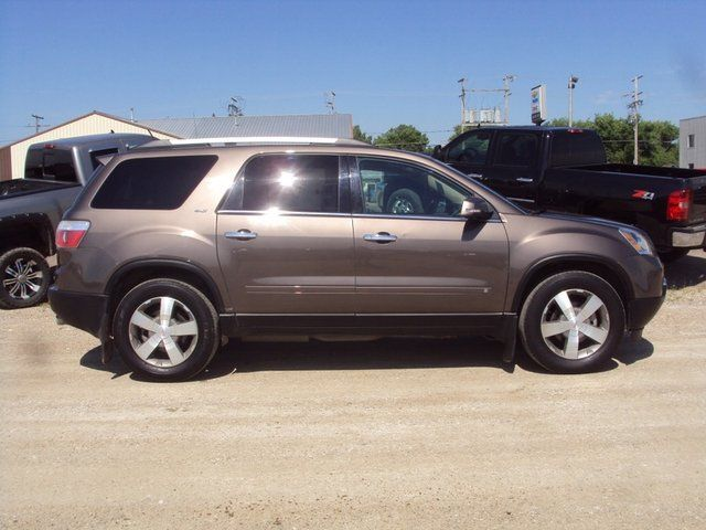 2010 gmc acadia slt watrous saskatchewan used car for sale. Black Bedroom Furniture Sets. Home Design Ideas