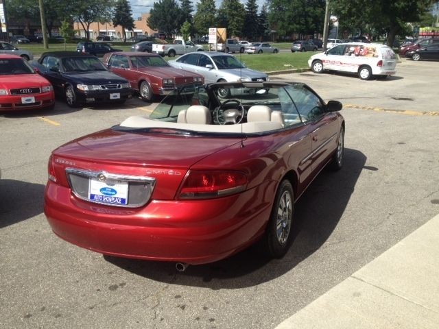 2004 chrysler sebring convertible ltd leather one owner in north. Cars Review. Best American Auto & Cars Review