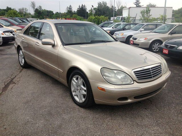 2001 mercedes benz s class s500 scarborough ontario for 2001 mercedes benz s500 specs
