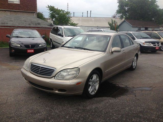 2001 mercedes benz s class s500 scarborough ontario for Mercedes benz scarborough