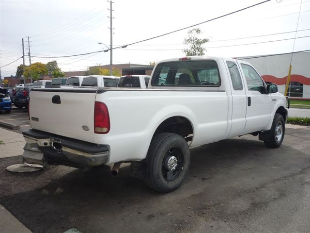 2005 ford f 250 xl extended cab long box 4x4 gas north york ontario used car for sale. Black Bedroom Furniture Sets. Home Design Ideas