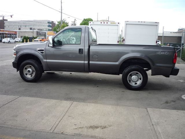 2010 ford f 250 xl regular cab long box 4x4 gas north york ontario used car for sale. Black Bedroom Furniture Sets. Home Design Ideas