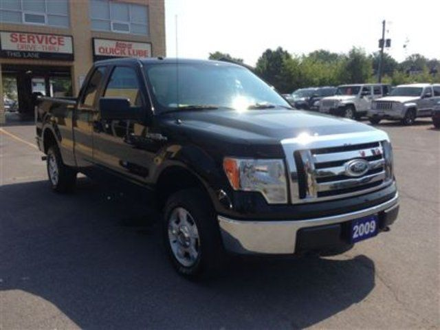 2009 ford f 150 xlt supercab 4x4 kingston ontario used car for sale. Black Bedroom Furniture Sets. Home Design Ideas