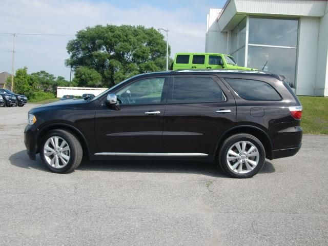 2013 dodge durango crew plus awd orillia ontario used. Black Bedroom Furniture Sets. Home Design Ideas