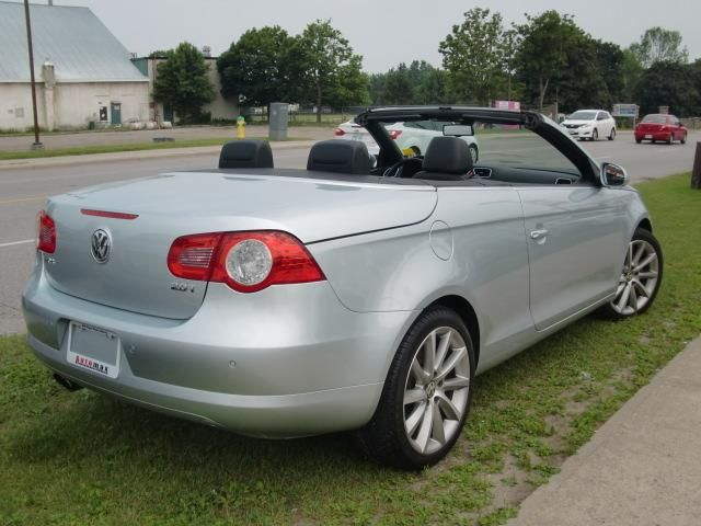2008 volkswagen eos lux convertible coupe barrie ontario used car for sale. Black Bedroom Furniture Sets. Home Design Ideas