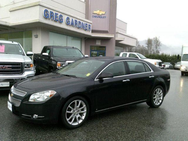 2009 chevrolet malibu ltz black greg gardner motors. Black Bedroom Furniture Sets. Home Design Ideas