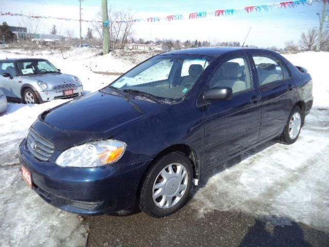 2003 toyota corolla ce newmarket ontario used car for sale. Black Bedroom Furniture Sets. Home Design Ideas