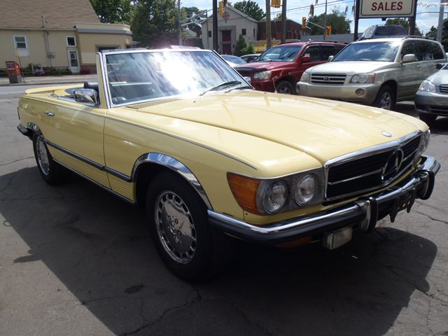 Used 1973 mercedes benz 400 series 450 sl roadster st for Mercedes benz st catharines