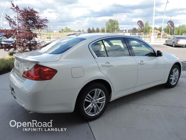 2013 infiniti g37 luxury awd langley british columbia used car for sale. Black Bedroom Furniture Sets. Home Design Ideas