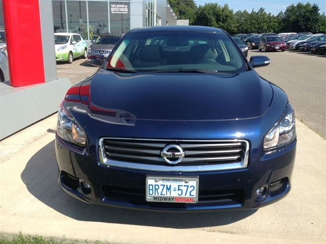 2012 nissan maxima 3 5 sv whitby ontario used car for sale. Black Bedroom Furniture Sets. Home Design Ideas