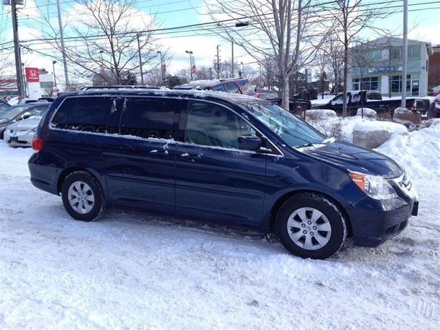 2010 honda odyssey se rear entertainment system dvd canadian   mississauga ontario used car for