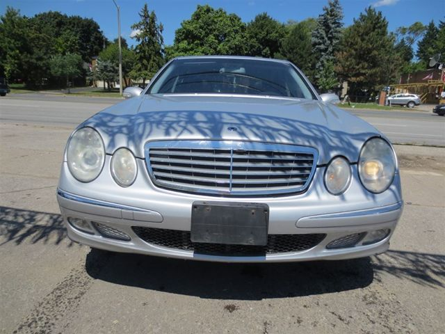 2003 mercedes benz e class e320 scarborough ontario for Mercedes benz scarborough