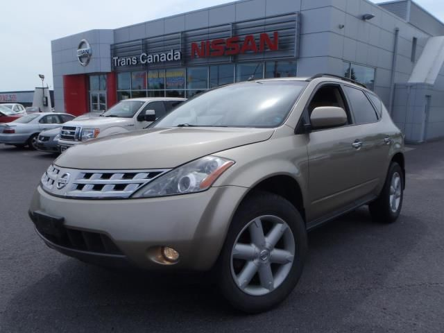 2005 nissan murano se peterborough ontario used car for. Black Bedroom Furniture Sets. Home Design Ideas
