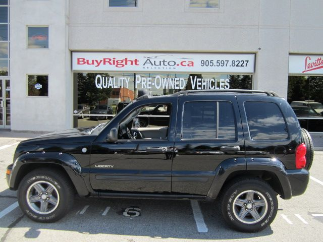2004 jeep liberty renegade 4x4 offroad lights leather sunroof vaughan ontario used car for sale. Black Bedroom Furniture Sets. Home Design Ideas