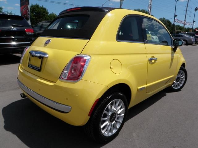 2013 fiat 500 500c lounge convertible milton ontario used car for sale. Black Bedroom Furniture Sets. Home Design Ideas