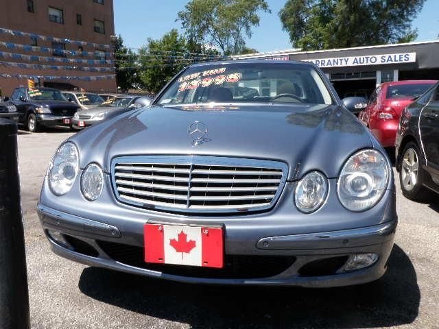 2005 mercedes benz e class e320 scarborough ontario for Mercedes benz scarborough