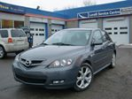 2007 Mazda MAZDA3 GT AUTO LEATHER SUNROOF PWR GROUP in Ottawa, Ontario