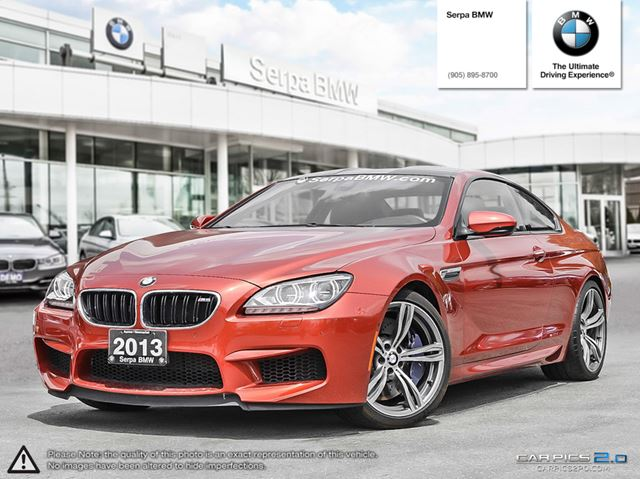 2013 BMW M6 Coupe in Newmarket, Ontario