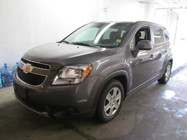 2013 Chevrolet Orlando Lt Smokey Grey Metallic Macphee