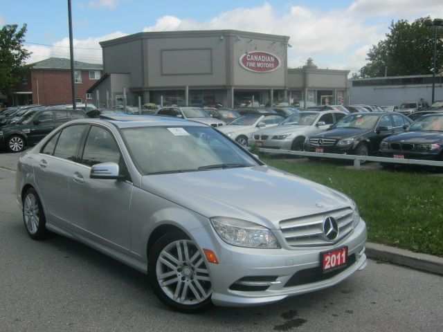 2011 mercedes benz c250 4matic sport prem pkg parktronic for Mercedes benz scarborough