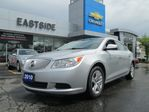 2010 Buick LaCrosse ONE OWNER-ONTARIO VEHICLE--CARPROOF CLEAN in Markham, Ontario