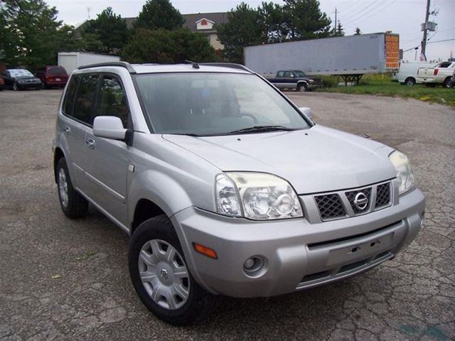 2005 nissan x trail xe 4x4 vaughan ontario used car for sale. Black Bedroom Furniture Sets. Home Design Ideas