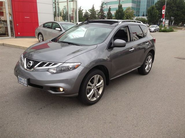 2013 nissan murano le burlington ontario used car for. Black Bedroom Furniture Sets. Home Design Ideas
