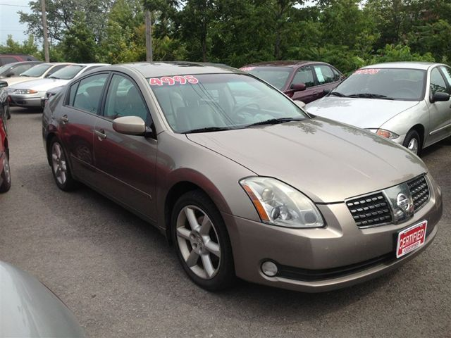 Nissan St Catharines >> 2004 Nissan Maxima SE - St Catharines, Ontario Used Car For Sale
