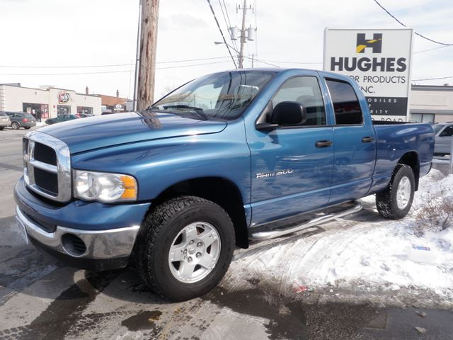 2003 Dodge Ram 1500 Slt 4x4 Blue Hughes Motor Products