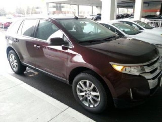 Gas mileage on 2011 ford edge limited brochure