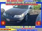 2005 Saab 9-5 2.3T LEATHER SUNROOF LOADED  in Cambridge, Ontario