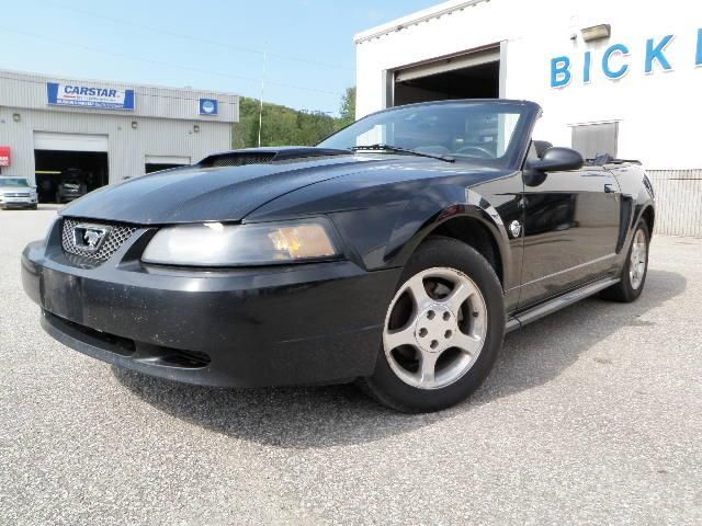 2004 ford mustang convertible 40th anniversary black the. Black Bedroom Furniture Sets. Home Design Ideas