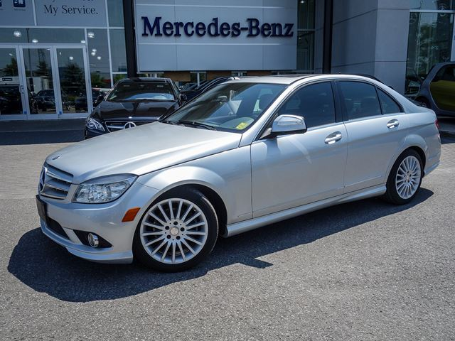2009 mercedes benz c230 4matic sedan iridium silver met