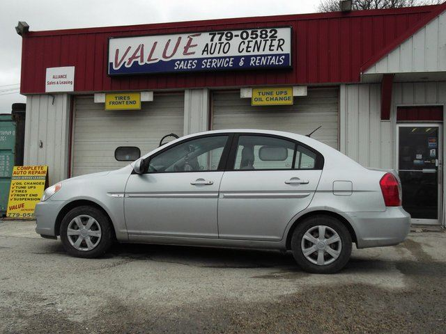 2007 hyundai accent 2007 hyundai accent 4 door sedan winnipeg manitoba car for sale 1355282. Black Bedroom Furniture Sets. Home Design Ideas