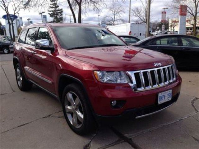 2012 jeep grand cherokee overland mississauga ontario used car for. Cars Review. Best American Auto & Cars Review