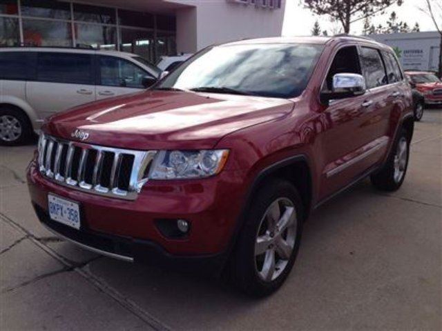 2012 jeep grand cherokee overland mississauga ontario used car for sale 1356551. Black Bedroom Furniture Sets. Home Design Ideas