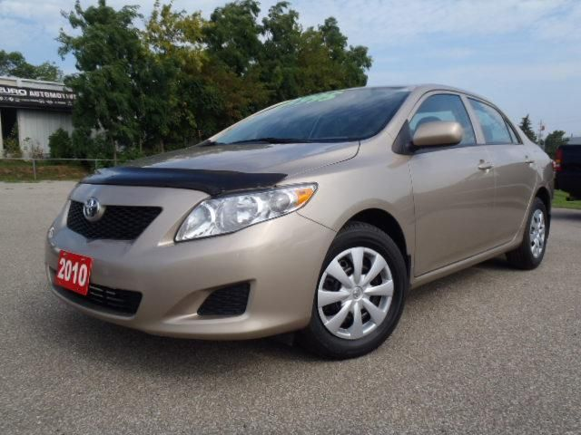 2010 toyota corolla ce beige durham automotive. Black Bedroom Furniture Sets. Home Design Ideas