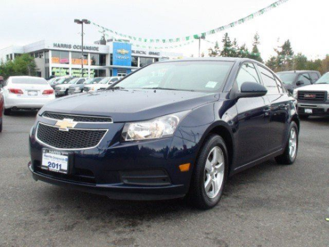 2011 CHEVROLET CRUZE LT Turbo+ w/1SB in Parksville, British Columbia