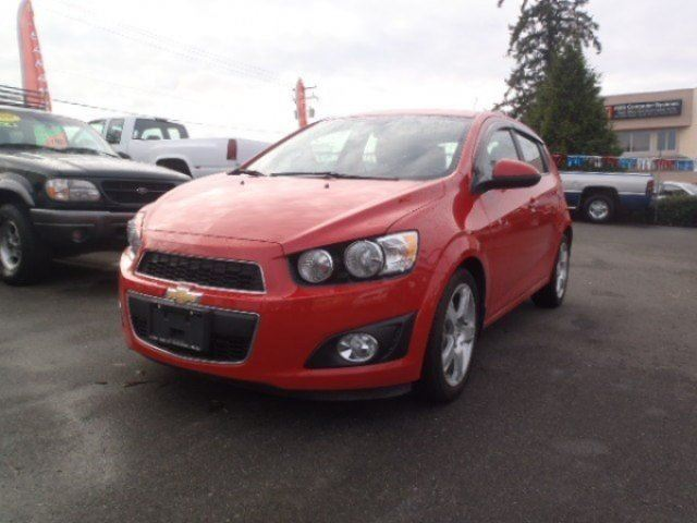 2012 CHEVROLET SONIC LT in Parksville, British Columbia