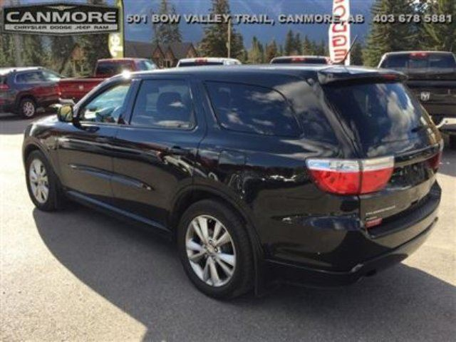 2012 dodge durango heat sxt low kms canmore alberta used car for sale 1376821. Black Bedroom Furniture Sets. Home Design Ideas