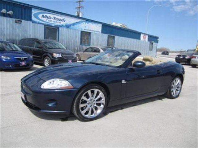 2008 JAGUAR XK SERIES  Base in Winnipeg, Manitoba