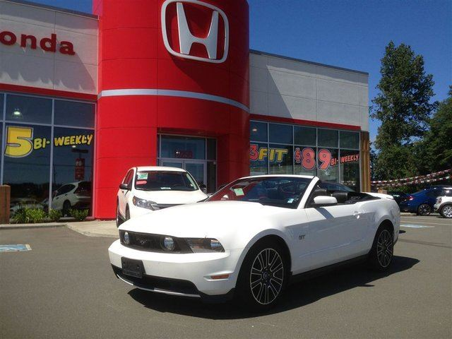 2010 FORD MUSTANG GT**5spd-V8-Leather-Nav in Courtenay, British Columbia