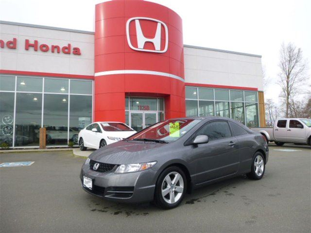 2011 HONDA CIVIC SE**Moonroof--Alloy Wheels--Low Kms** in Courtenay, British Columbia